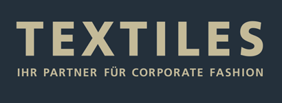 TEXTILES – Ihr Partner für Corporate Fashion Logo